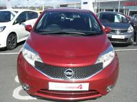 Nissan Note ACENTA DIG-S (red) 2014-04-30