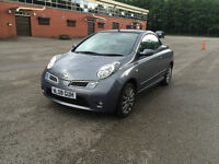 **NISSAN MICRA ACENTA CC CONVERTIBLE SPORT ONLY 46,750 MILES**