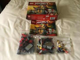 LEGO 70756 Ninjago Dojo Showdown Set (Used) Collect Only
