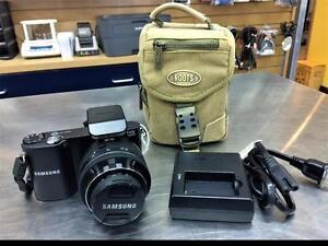 Appareil photo numérique SAMSUNG NX1000 20.3mp + étui   #F019813