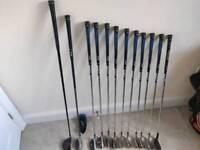 RAM F7 - Full Set - 3&5 Woods & 3-LW irons.