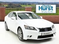 Lexus GS 300H LUXURY (white) 2015-12-21