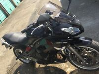 Kawasaki ER6F to sell or swap for car or 125cc