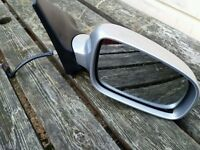 2001 VW Polo 6n2 drivers side electric door mirror in silver