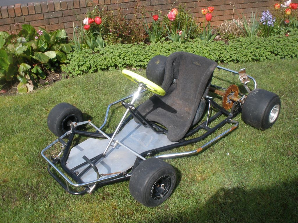 Petrol Go kart rolling chassis (it has no engine ) | in Corfe Mullen ...