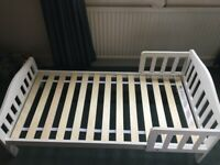 White Mothercare Toddler Bed