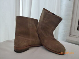 Paul Smith Casual Brown Suede Boots; Size UK 6.5, EU 40.5 RRP £275
