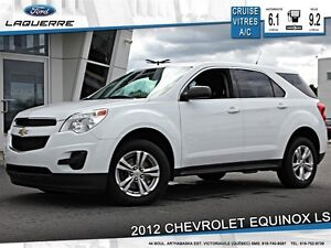 2012 Chevrolet Equinox **LS*AUTOMATIQUE*CRUISE*A/C**