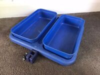 Preston Off Box Fishing Side Tray Baiting Tray 2 Section For Seat Box Attachment