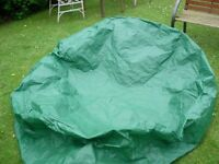 LARGE 5FT ROUND POLYURETHANE COVER 2FT DEEP.