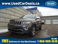 2015 Jeep Grand Cherokee Limited V6 4X4 Nav Htd Lthr Sunroof
