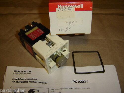 HONEYWELL 909AAA51 MICROSWITCH CMC PUSH BUTTON NEW