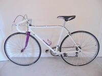 "Classic/Vintage/Retro Raleigh (20"" frame) Racing/Road Bike (New Bontrager puncture proof tyres)"