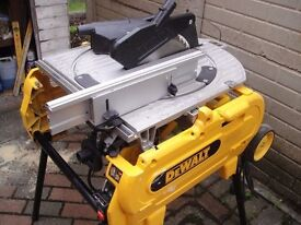 DEWALT FLIP SAW D27105 (110volt) A VERY RARE BEAST & In Cracking Condition