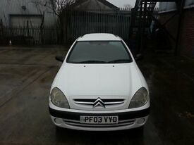 Citroen Xsara enterprise van 2003 ,MOT 2018 Work Horse Just Been Fully Serviced drives Lovely