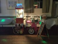 Popcorn Machine, Candy Floss Machine, Hot Dog Grill and Bouncy castle Hire only