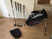 Uskg Junior Golf Clubs Set (Estimated Age 5-8) Clubs And Bag Are In Very Good Condition