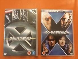 X-MEN DVD'S 5 TITLES