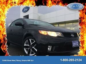 2012 Kia Forte Koup SX, Local trade, Mint!!