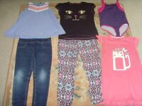 GIRLS CLOTHES,JEANS,TROUSERS,TOPS (50P EACH)