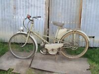 Moped Mobylette Motobecane 1954, poss electric bike conversion
