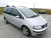 2006 SEAT ALHAMBRA 2.0 TDI PD 140 BHP STYLANCE 5 DOOR HATCHBACK SILVER 7 SEATER