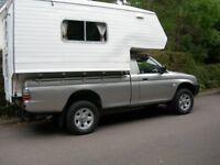 Walkers suntrekker demountable diesel camper 4berth