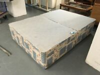 DIVAN DOUBLE BED BASE WITH STORAGE DRAWERS ( no mattress)