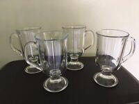 FOUR IRISH COFFEE GLASSES - ARC FRANCE
