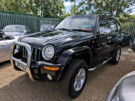 """JEEP CHEROKEE 2.5CRD LIMITED - MONSTER 3.5"""" LIFT +++ LOVELY"""