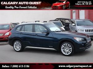 2014 BMW X1 xDrive28i AWD / PANO-ROOF / LEATHER