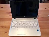 White HP Laptop