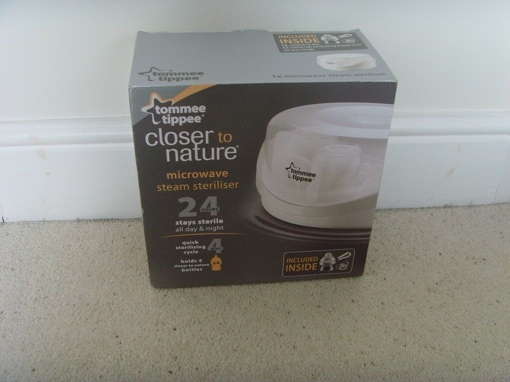 Tommee Tippee Closer To Nature Microwave Steam Baby Bottle