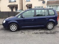 Cheap 06 touran 1.9tdi 105bhp 6speed For sale or swap