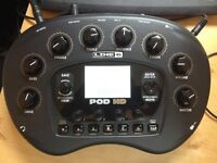 Line6 Pod HD and floorboard