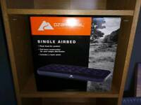 Single Airbed / Blow up / Camping Bed
