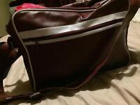 Maroon Mackenzie satchel