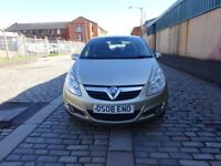 2008 VAUXHALL CORSA 1.4 PETROL, LONG MOT, 2 REMOTE KEYS 1 OWNER, DRIVE SPOT ON, LOW INSURANCE
