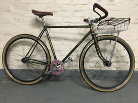Raleigh Royale fixed gear town bicycle 54cm steel frame and forks £300 [PRICE REDUCED]
