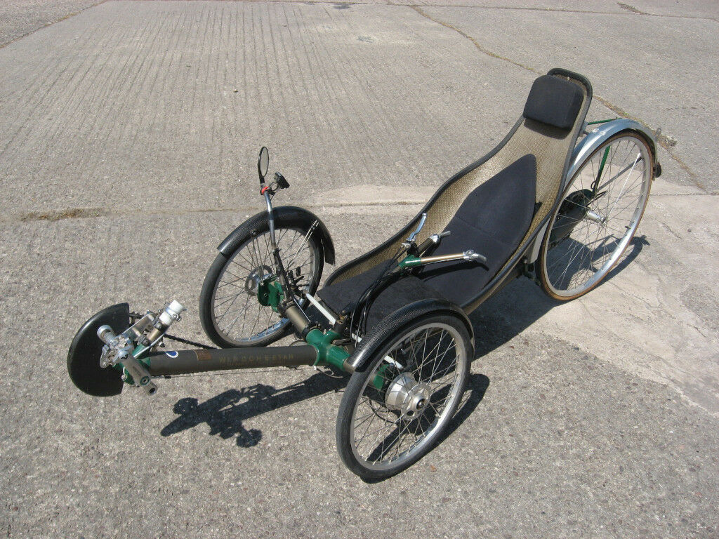 Burrows Windcheetah Recumbent Tricycle Designed By Mike