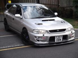 1999,Subaru Impreza 2.0 Turbo, UK 2000, Vogue Silver, Subtle Modifications