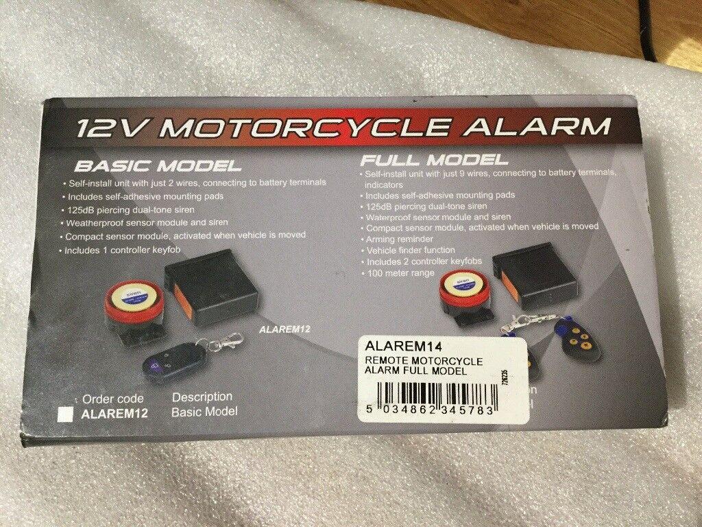 Motorcycle Alarm In Hove East Sussex Gumtree