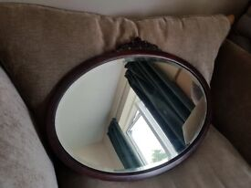 Large Heavy Antique Wall Mirror REDUCED !!!