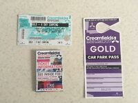 Creamfields GOLD 4 Day Camping Ticket