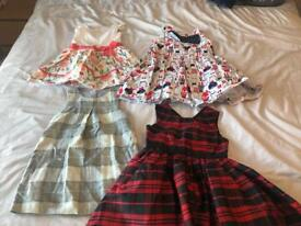 Selection of girls dresses size 2-3