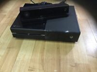 Xbox one 500gb & Kinect , games great condition
