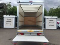 Large Lutons with Tail Lift Man and van Home moves transport -- STUDENT RATES ASK