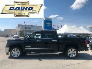2016 GMC Sierra 1500 SLT CREW 4WD SHORT/ LEATHER/ NAVIGATION/ 20