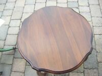 Small, Low, Mahogany Coffee Occasional Table