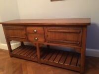 Solid wood sideboard, superb quality, excellent condition